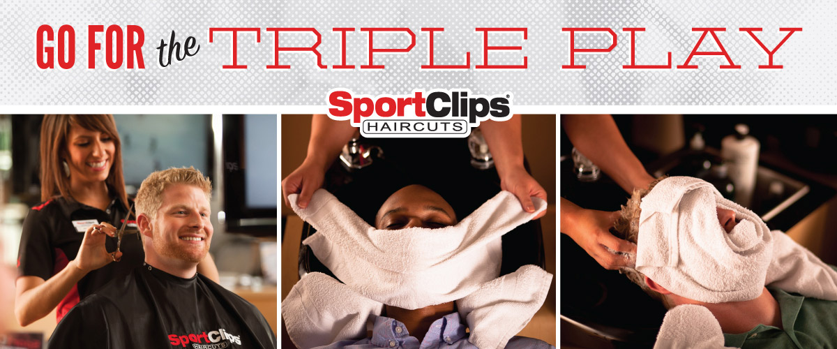 The Sport Clips Haircuts of Lake Elsinore Triple Play